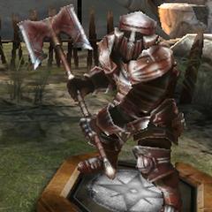 Ein Krieger der Legion in <a href=