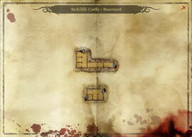 Map-Redcliffe Castle - Basement