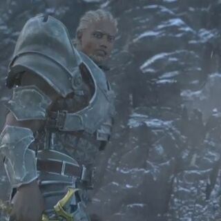 Sten's appearance in the <i>Sacred Ashes</i> trailer