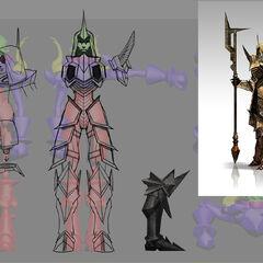 Gate guardian modelelements