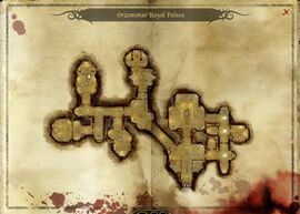 Map-Orzammar Royal Palace