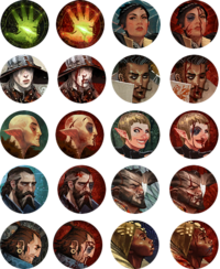 Inquisition character Icons