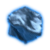 Тронутый тенью глазет (иконка)