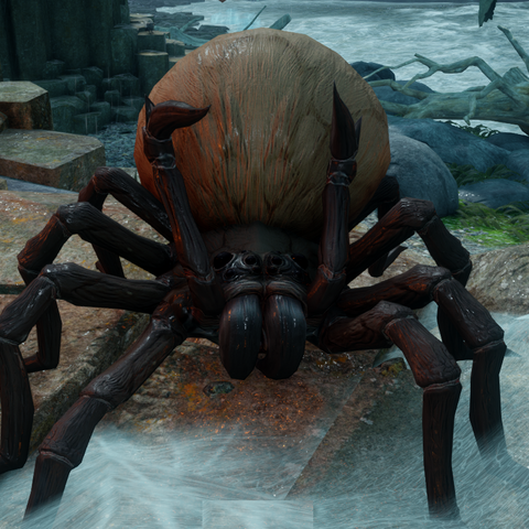 A Giant spider in <i>Dragon Age: Inquisition</i>