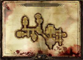Карта дворца Орзаммара
