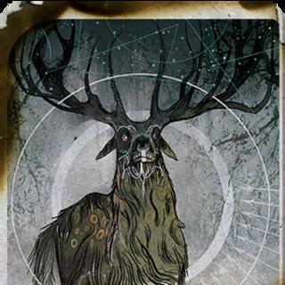 Lavellan Apprentice tarot card