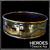 Крученый ошейник из черного металла HODA
