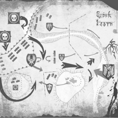 Mapa z czasów <a href=