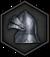 Обычный шлем (иконка)