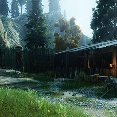 Das Lager der Klingen