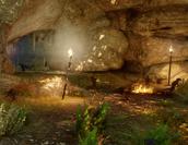 Der Verlust eines Freundes - Die Höhle