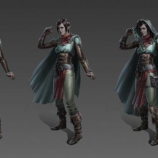 Artwork of Vaea's tier progression in <a href=