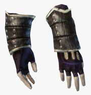 Клепаные перчатки уровень 9