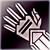 Средние перчатки (фиолетовые)