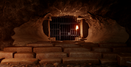 Door Paras Cavern1