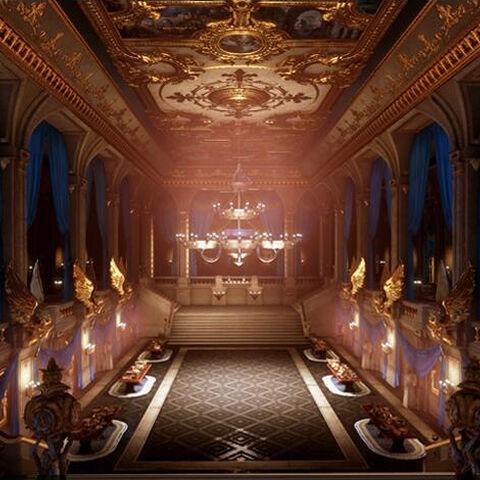 Wnętrze Pałacu Zimowego