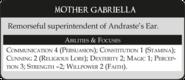 Мать Габриэлла статистика