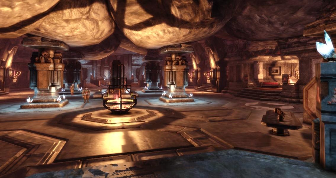 Dwarven Architecture Dragon Age