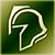 Light helmet green DA2