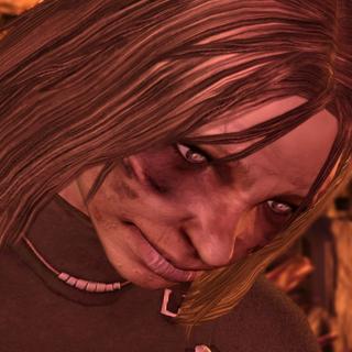 Das Gesicht eines Ghuls