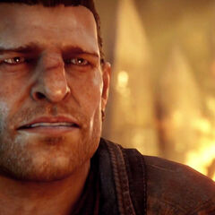 Varric in the <i>Fires Above</i> trailer