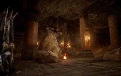 Astrarien in den Graten - Geheime Höhle