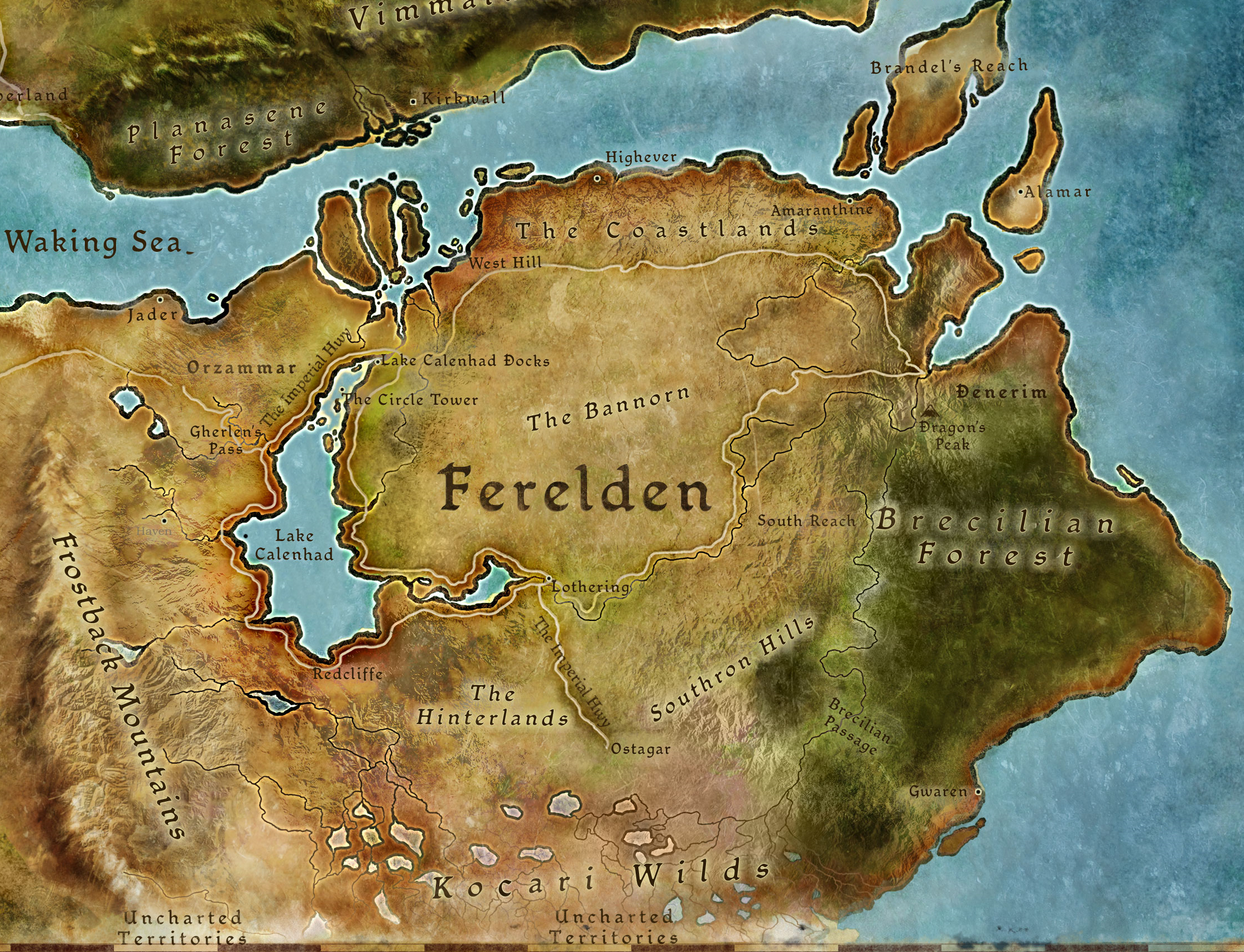 Ferelden | Dragon Age Wiki | FANDOM powered by Wikia on