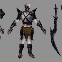Dragon Age II Hurlock Concept Art