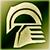 Средний шлем (зеленый)