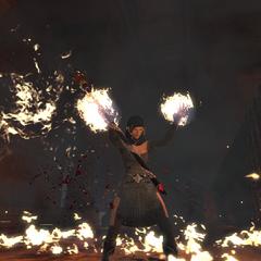 Summoning a Fire Storm