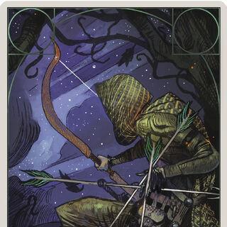 Bogenschütze Tarotkarte