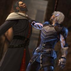 Fenris tötet seinen Meister
