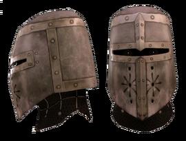 Шлем рыцаря-командора