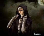 Fenris in hood by zzingne-d5jxyv6