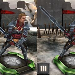 Tier progression Knight-Captain Cullen in <i><a href=