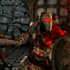 Blood Dragon Armor in battle