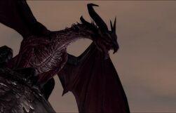 Flemeth DA II Dragon