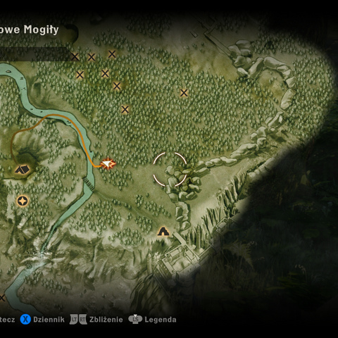 Miejsce rozpoczęcia i zakończenia zadania na mapie