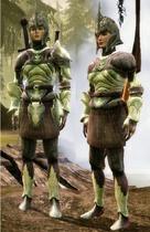 Древний эльфийский комплект 2