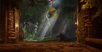 Das Grab der Ritter - Der nächste Bereich