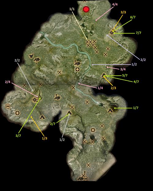 Die Smaragdgräber - Sammelquests & Sonstiges