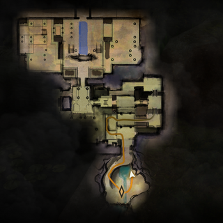 Mapa głównego poziomu