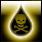Иконка кислотный плевок