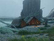 Das Lager am kleinen Hain