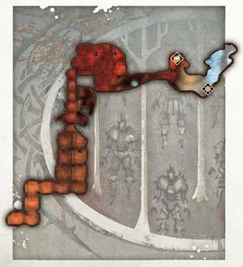 Первозданные руина карта