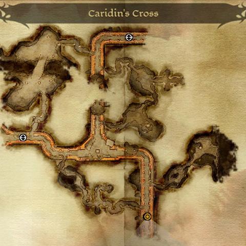 Karte des Gebietes