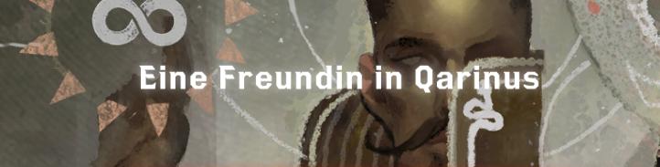 Eine Freundin in Qarinus - Font