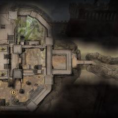 Karte des unteren Bereiches