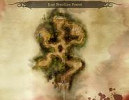 Östlicher Brecilianwald minimap