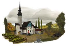 Orlesian vineyard and chapel